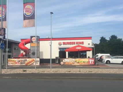 Neugebauter BURGER KING in Hückelhoven